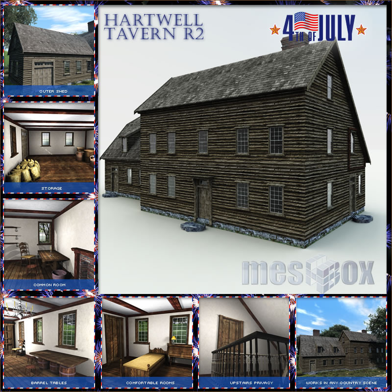 Concord Hartwell Tavern 3D