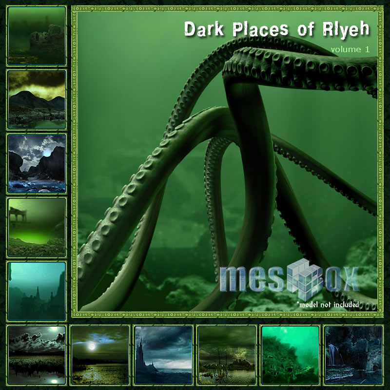 Dark Places of Rlyeh Volume 1 Demo
