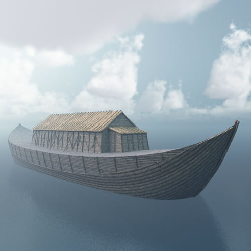 Noah's Ark - at sea
