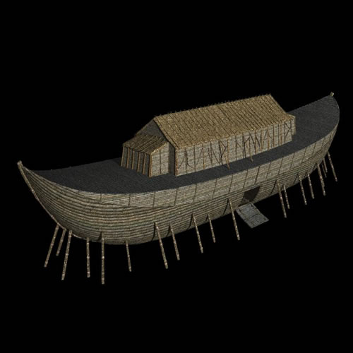 Noah's Ark - fast render in Shade