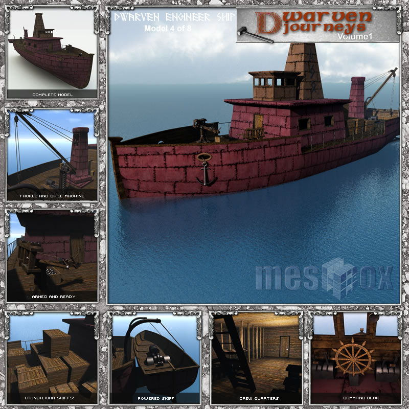 Dwarven Engineer's Ship