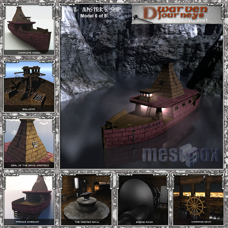 Dwarven Anvil Master's Ship