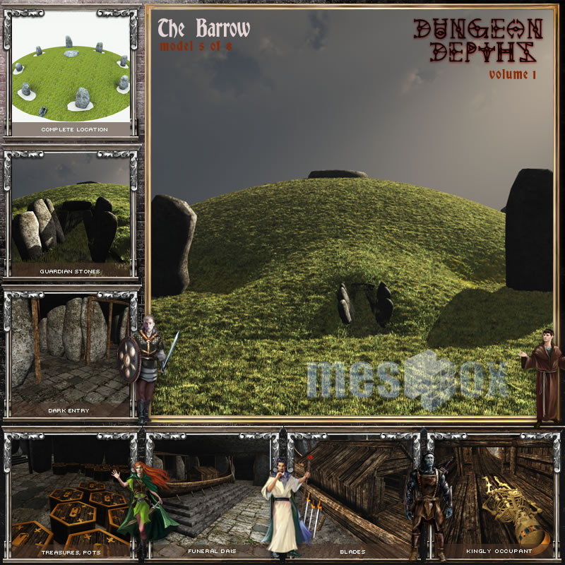 Dungeon Depths: The Barrow