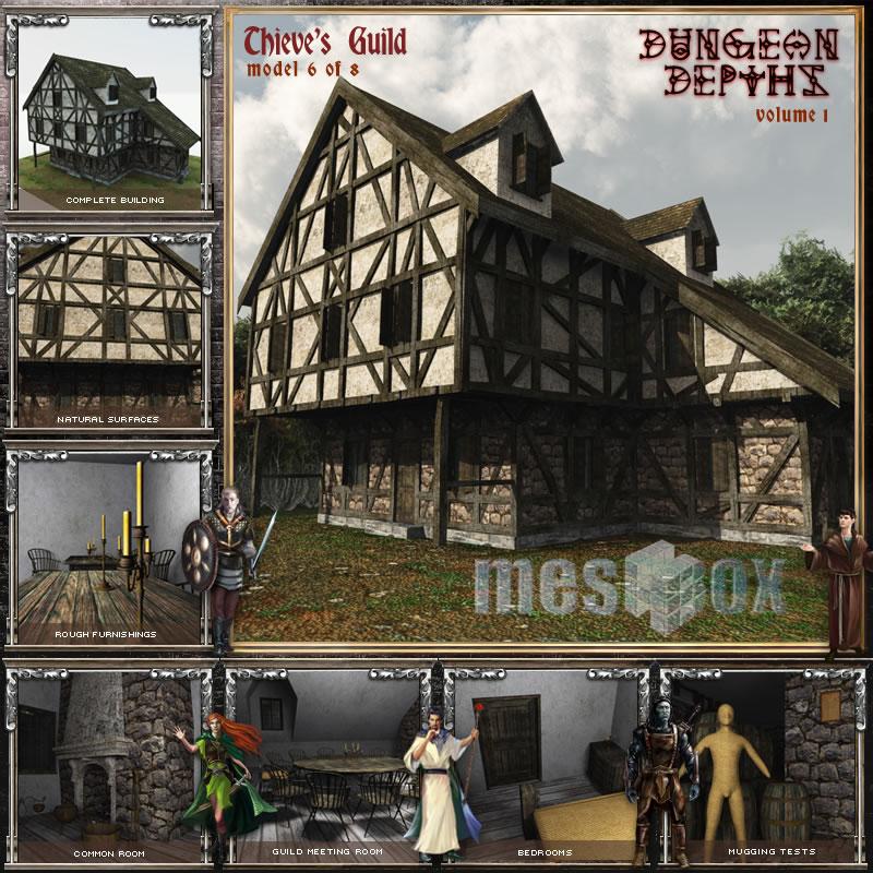 Dungeon Depths: Thieves Guild