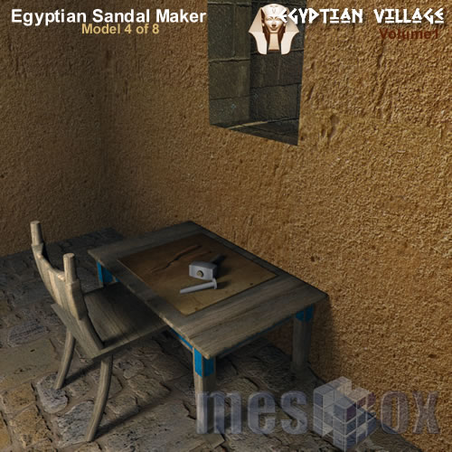 Ancient Egypt Sandal Maker - Master Maker's Area