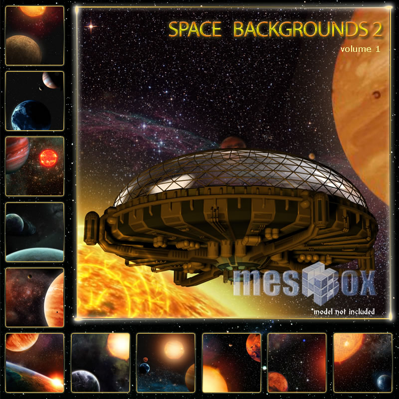 Space Backgrounds 2 - Backgrounds