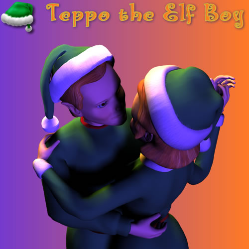 Teppo and Taika Romantic Dancing Pose