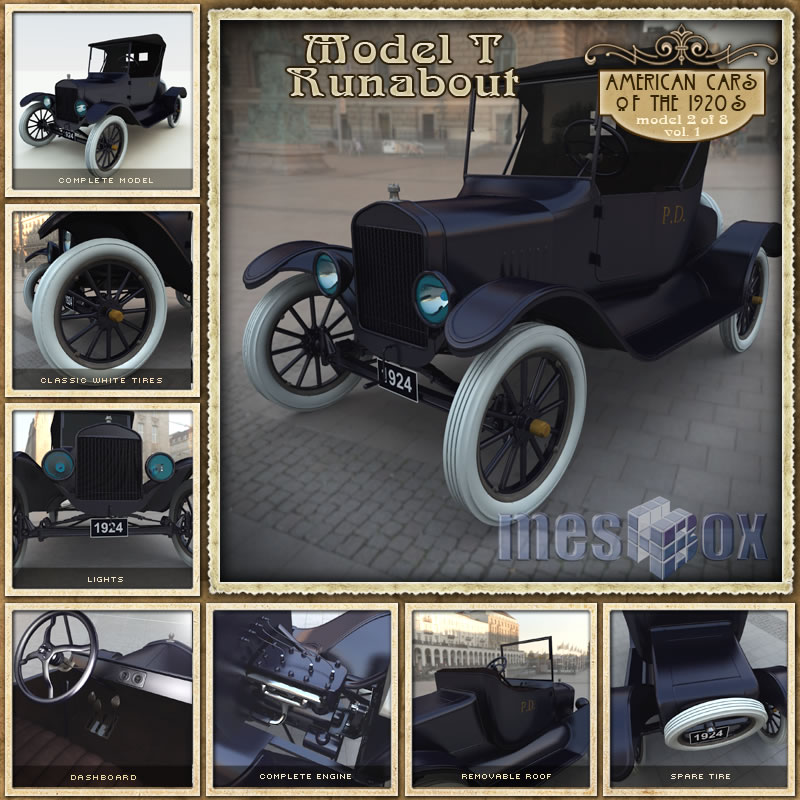 1924 Model T Runabout