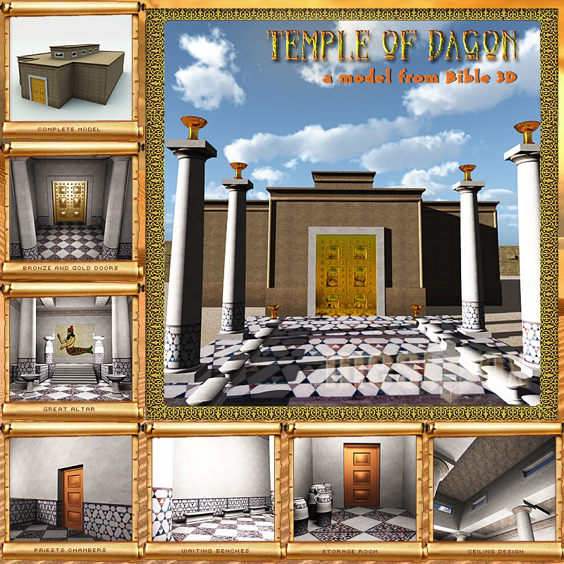 Temple of Dagon 3D