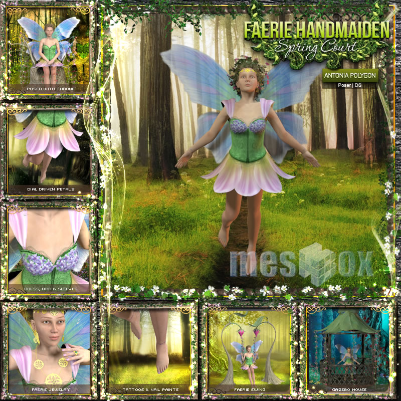 Faerie Handmaiden of Spring Court