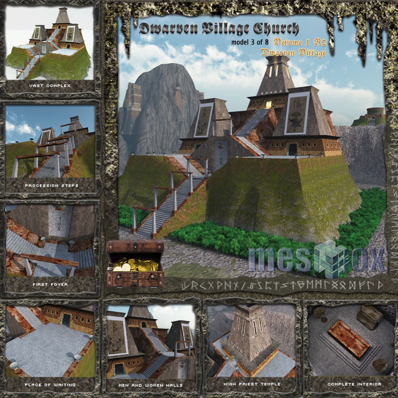 Dwarven Village Church