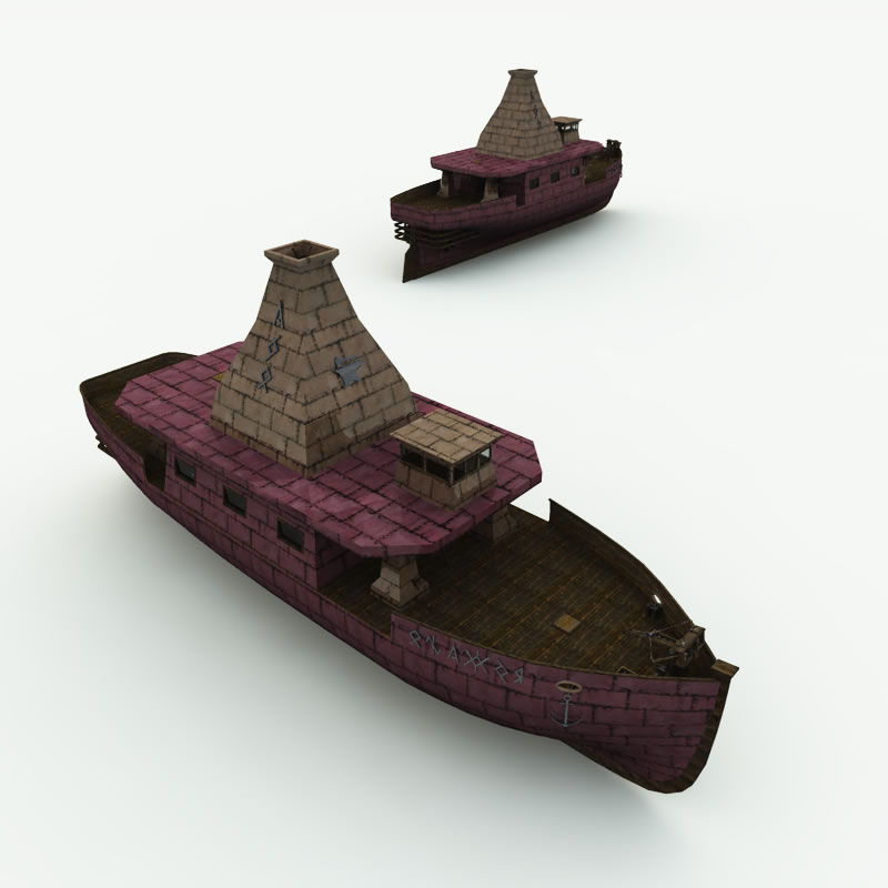 Dwarven Anvil Master's Ship R2