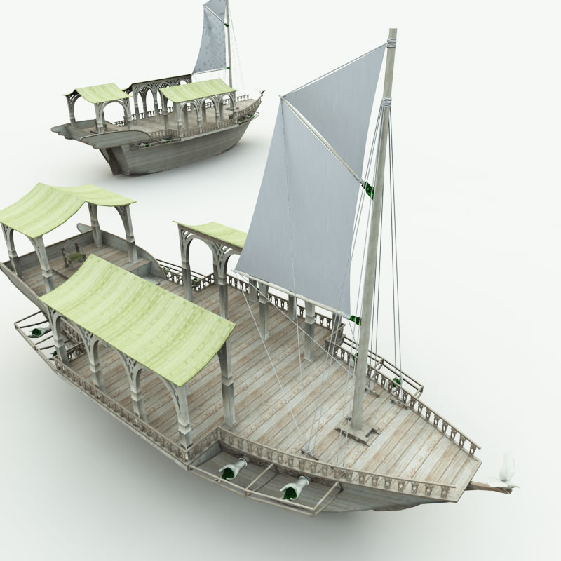 Elven Wizard Ship R2