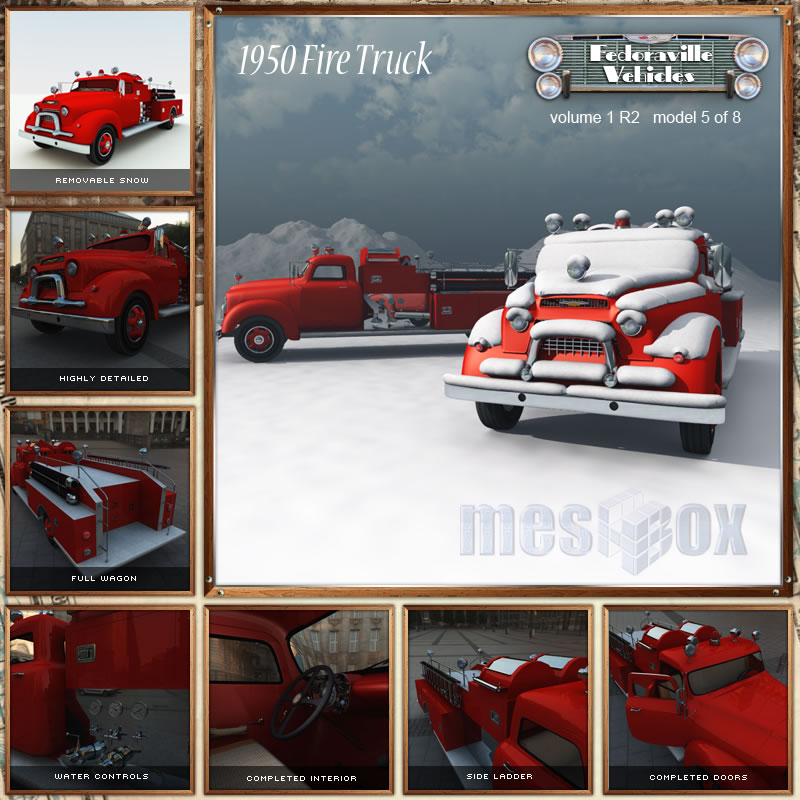1950s Fire Truck