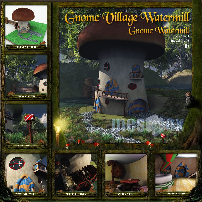 Gnome Village Watermill