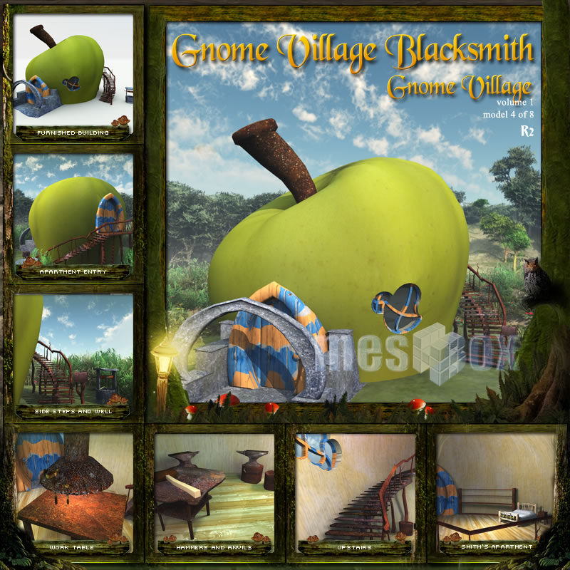Gnome Village Blacksmith