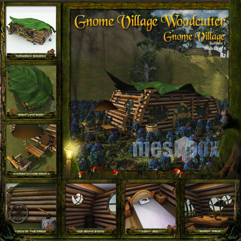 Gnome Village Woodcutter