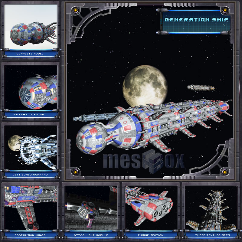 Generation Ship - Base Ship