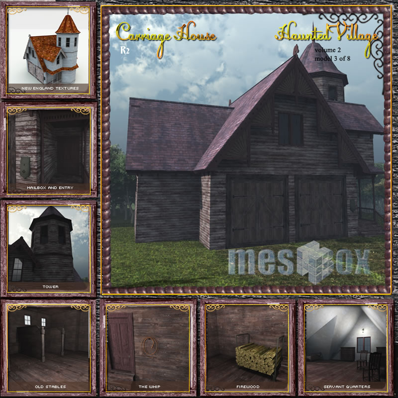 Haunted Carriage House R2
