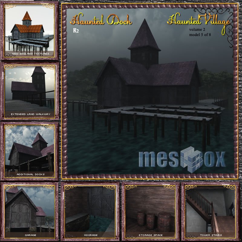 Haunted Village Dock