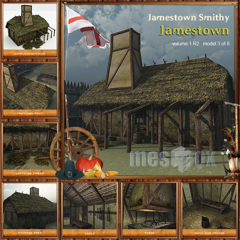 Jamestown Smithy