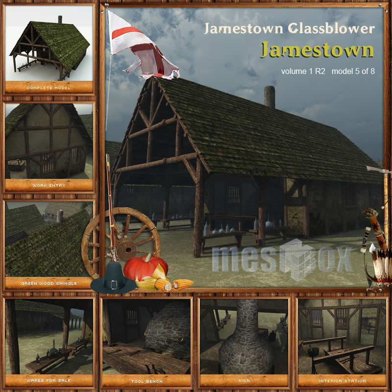 Jamestown Glassblower