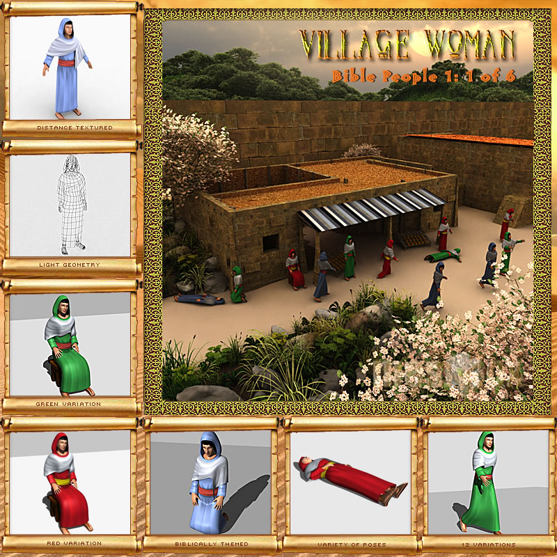 Bible People: Village Woman