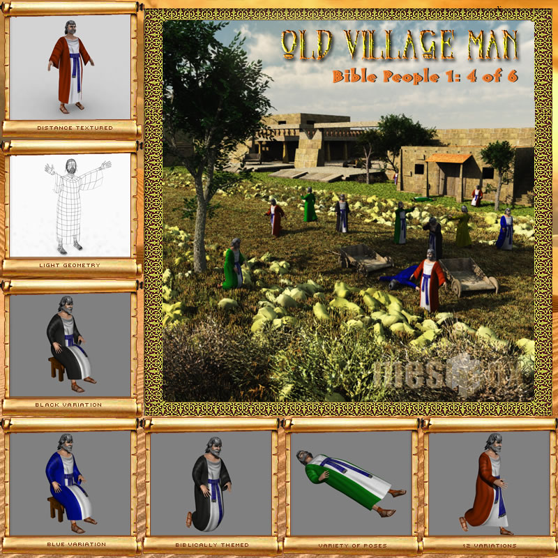 Bible People: Old Village Man