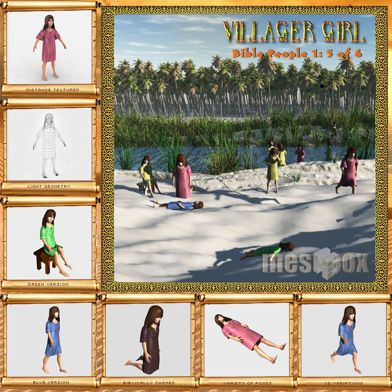 Bible People: Village Girl
