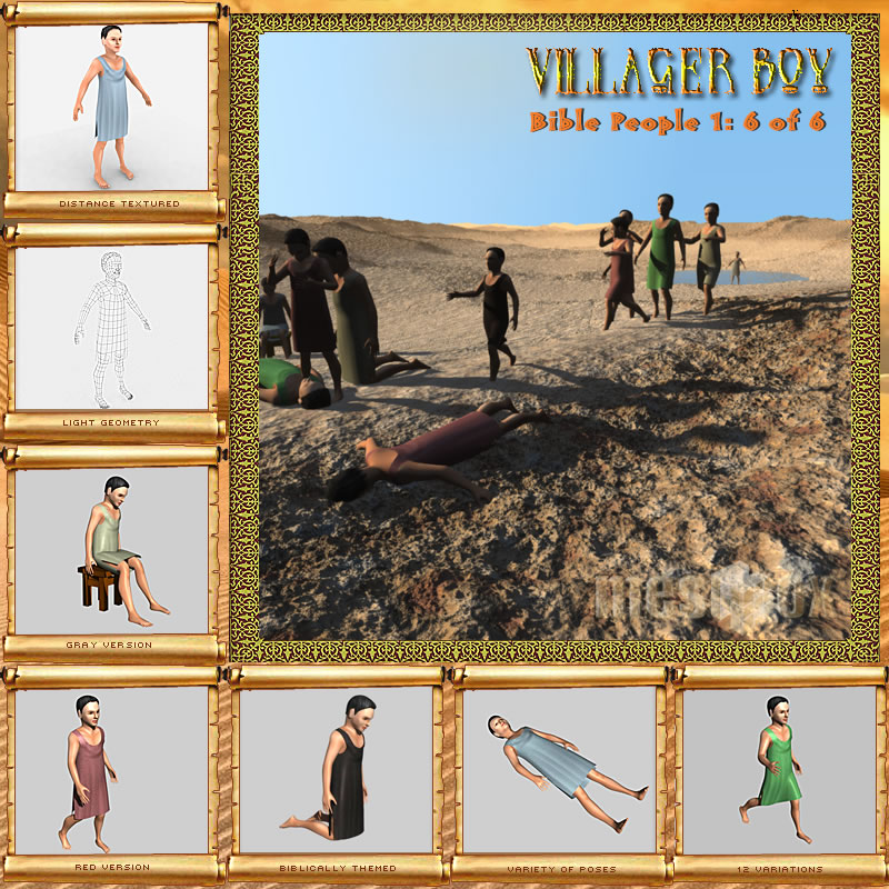 Bible People: Village Boy
