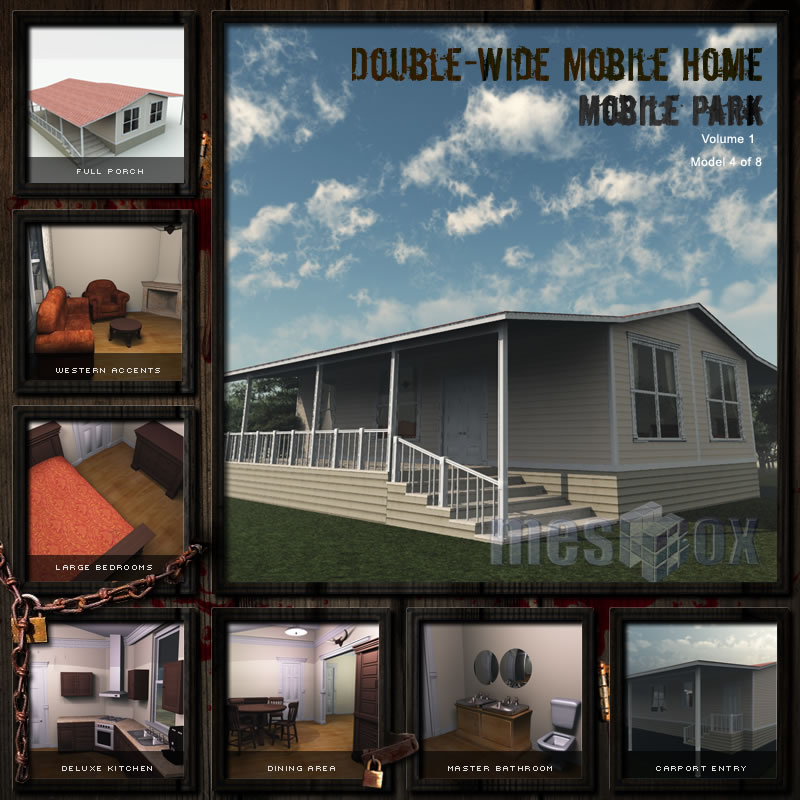 Double Wide Mobile Home