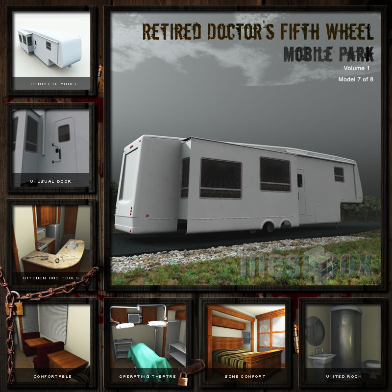 Retired Doctor&#039;s Fifth Wheel Trailer
