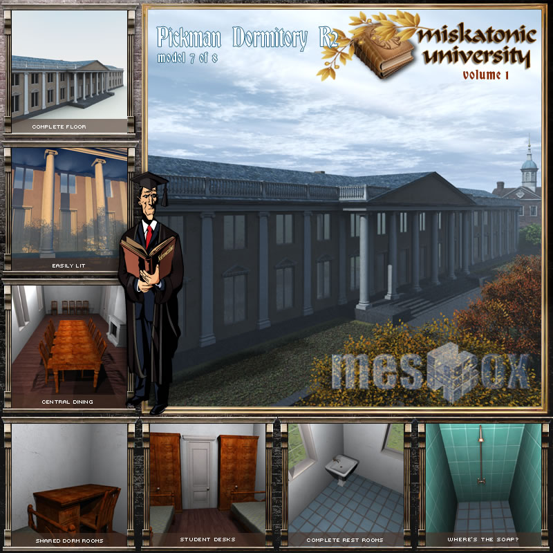 Pickman Dormitory R2, Miskatonic University