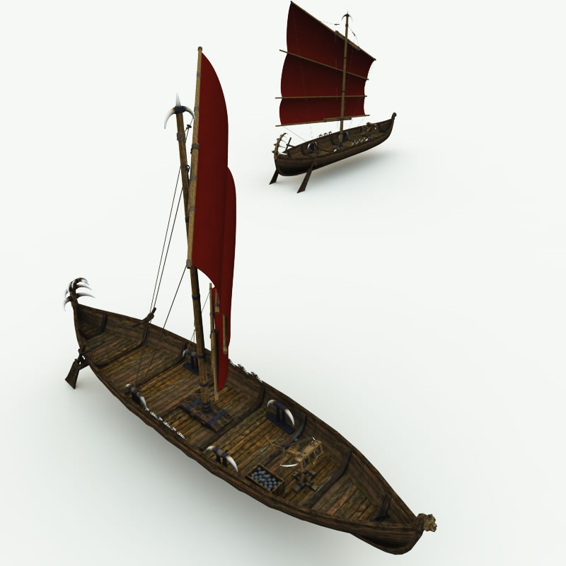 Orc Small Sail Ship