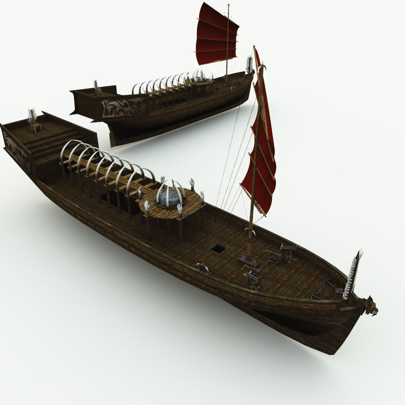 Orc Black Sorceror's Ship R2