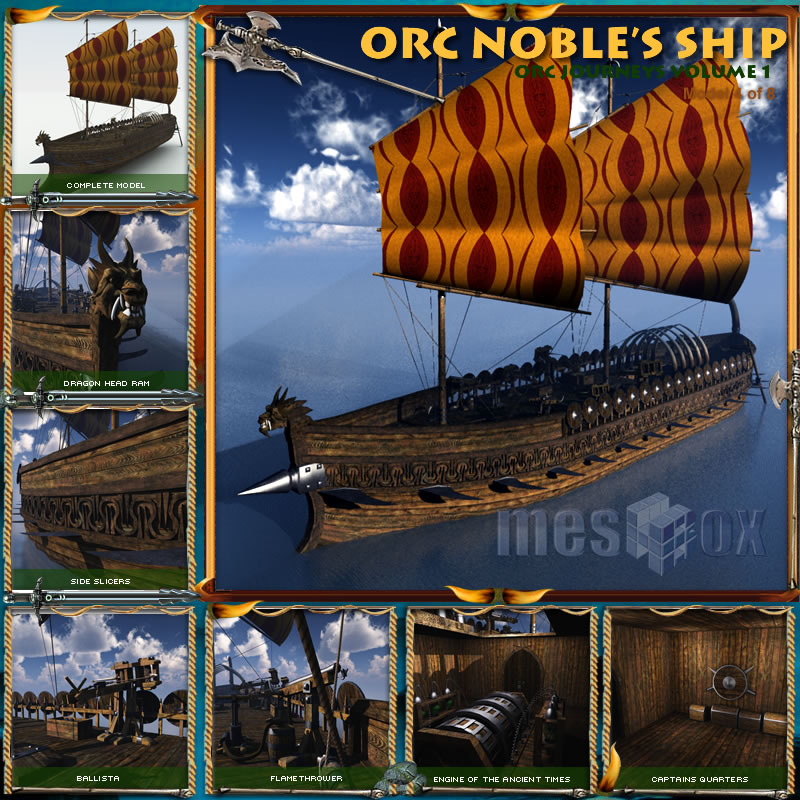 Orc Nobles Ship