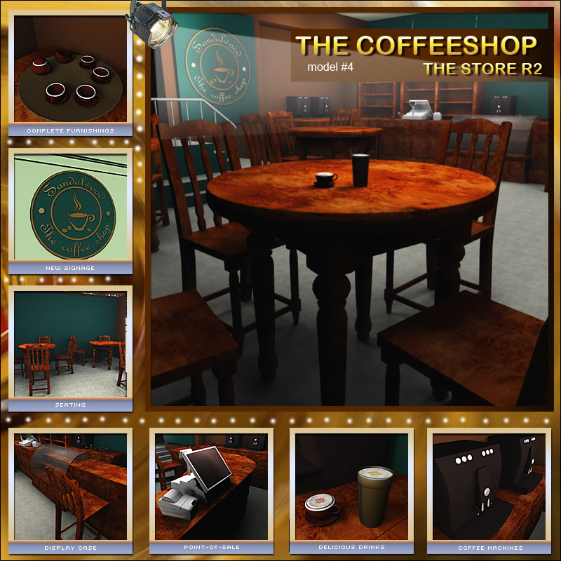 The Coffee Shop for The Store R2