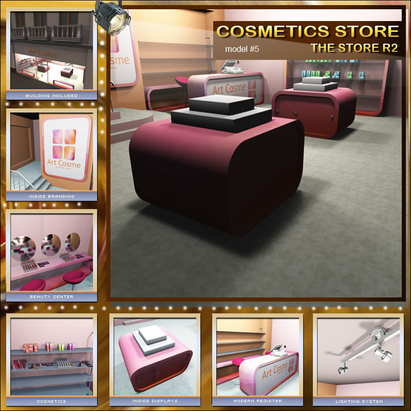 The Cosmetics Shop for The Store R2