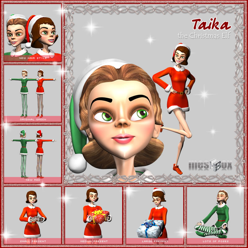 Taika the Christmas Elf Girl (Taika 2.1)