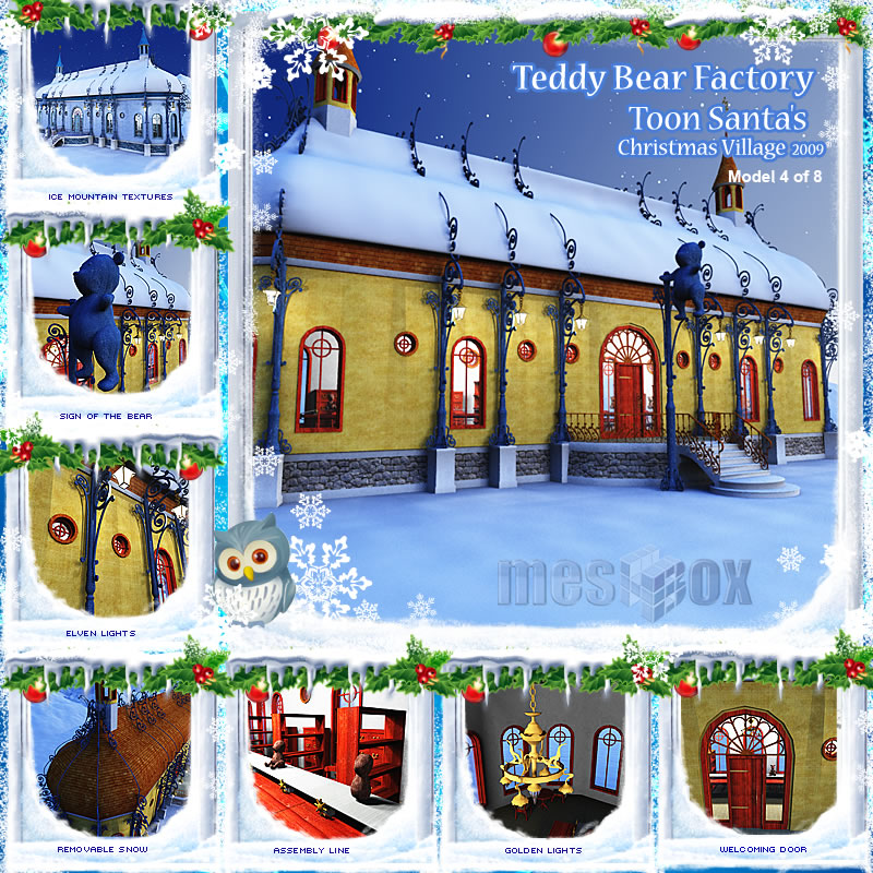 Toon Santa's Teddy Bear Factory