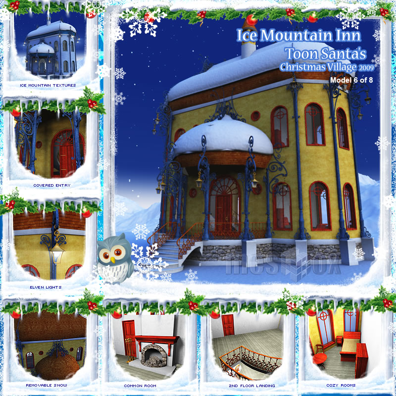 Toon Santa's Ice Mountain Inn