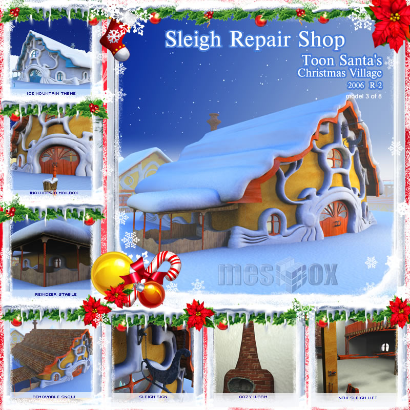 Sleigh Repair Shop