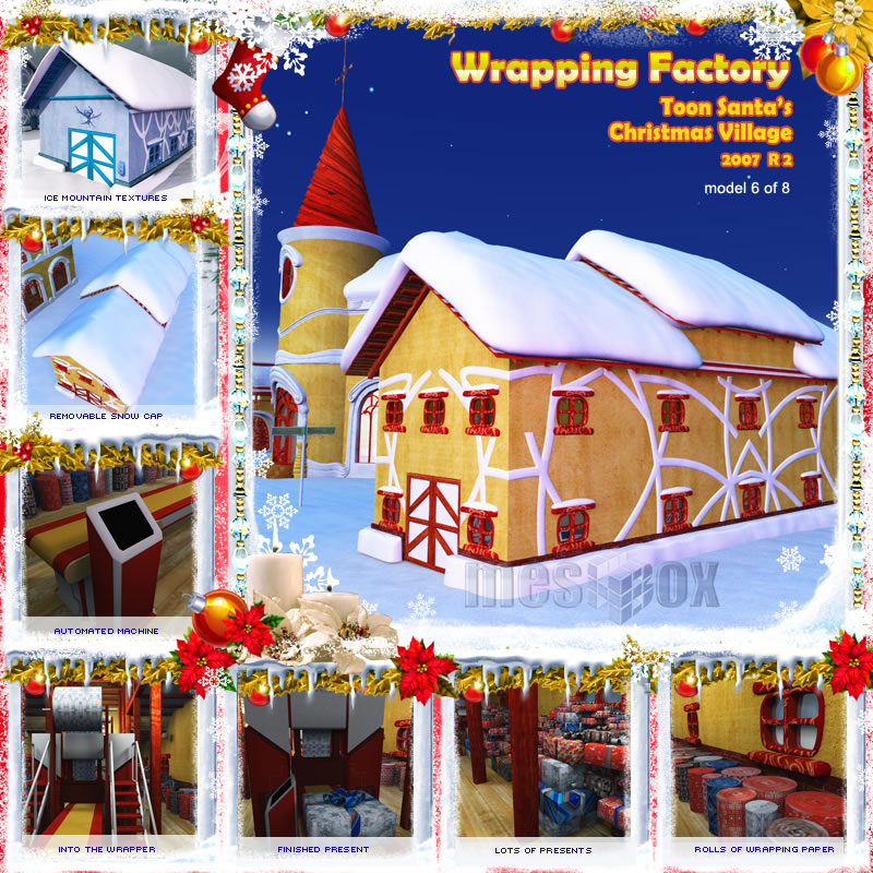 Toon Santa's Wrapping Factory