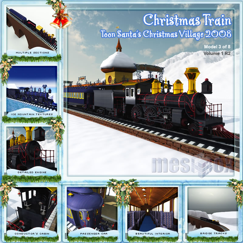Toon Santa&#039;s Christmas Train