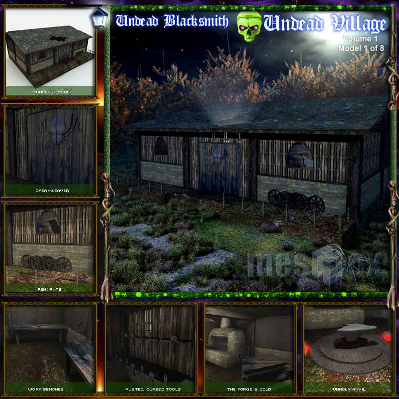 Undead Village Blacksmith (UDV1V101-3DS)