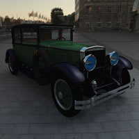 1928 Cadillac Town Sedan (Al Capone&#039;s Car)