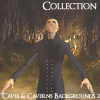 Caves and Caverns Backgrounds HD Volume 2