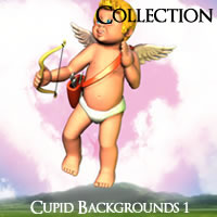 Cupid Backgrounds Volume 1