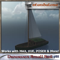 Dwarven Small Sail
