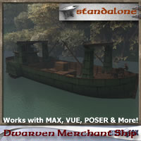 Dwarven Merchant Ship
